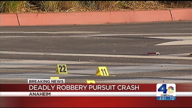 [LA] OC Bank Robbery Turns Into Fatal Car Chase