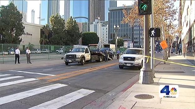 [LA] Woman Recovering After LAPD Car Crash