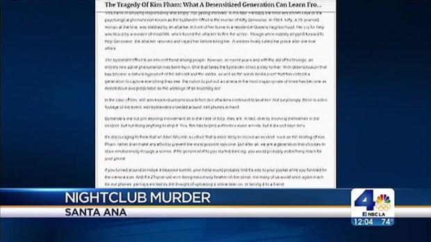[LA] Police to Provide Updates in Case of Woman Beaten Outside OC Nightclub
