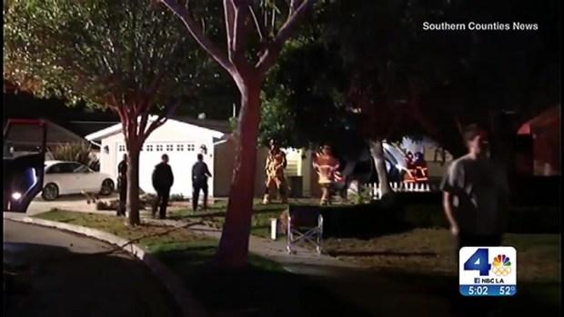 [LA] Resident Describes Car Crash Into Home