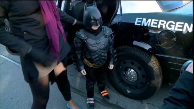 [BAY] RAW VIDEO: Batkid Returns to San Francisco