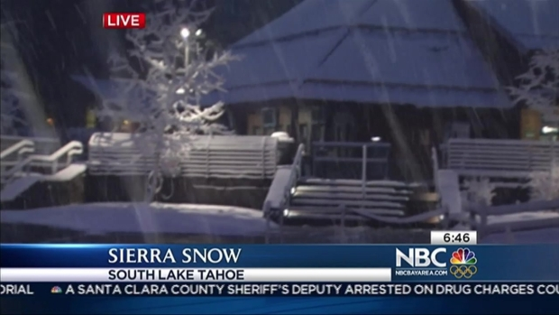 [BAY] Snow Returns to the Sierra