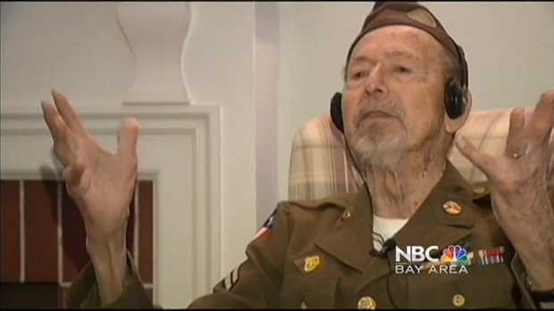 [BAY] World War II Veteran Honored by Runners, Caught by Reporter's Video