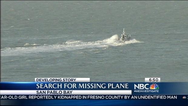 [BAY] Crews Search for Pilot of Missing Plane Near San Rafael Bridge