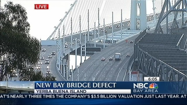 [BAY] New Defect on Eastern Span of Bay Bridge