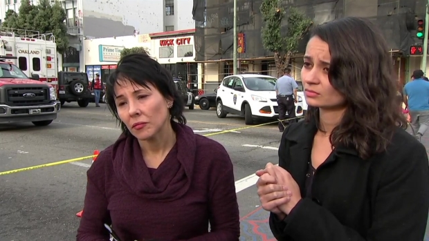 [NATL-BAY] RAW: Two Survivors of Deadly Oakland Warehouse Fire Describe the Scene Inside