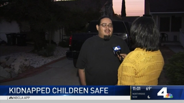 [LA] Kidnapped Siblings Found Safe