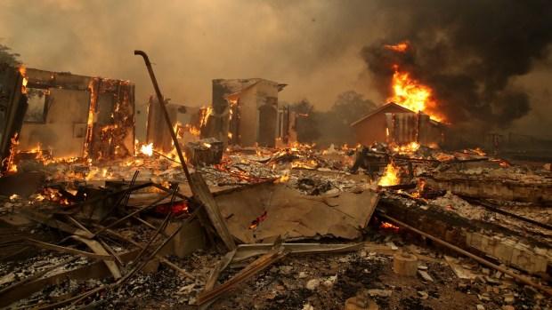 Kincade Fire Rips Through Rural Sonoma County