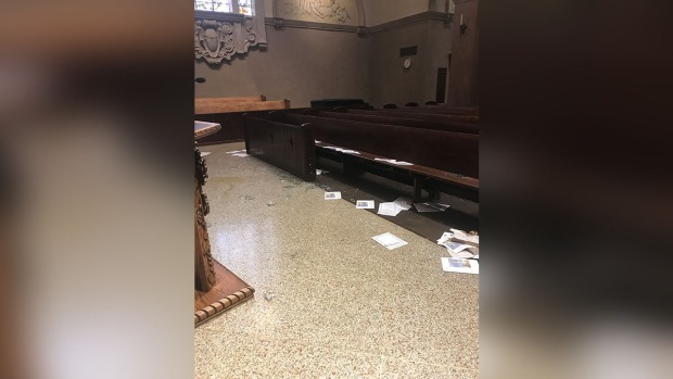 Historic Catholic Church in North Hollywood Vandalized