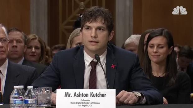 [NATL] Ashton Kutcher Testifies on Ending Modern Slavery and Human Trafficking