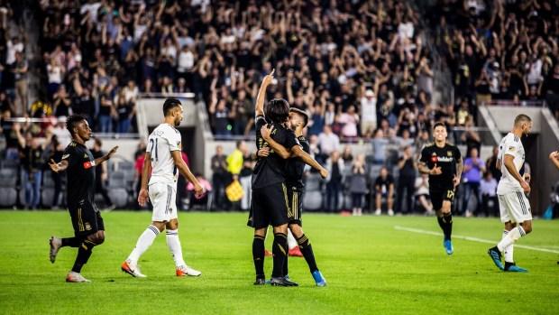 LAFC Tops LA Galaxy in Thrilling 5-3 'El Trafico' in Photos