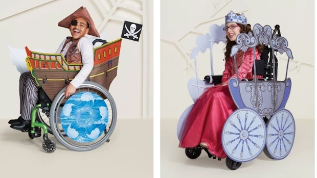 Target Reveals New Wheelchair-Friendly Halloween Costumes