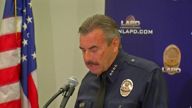 [LA] LAPD Chief Discusses South LA Police Shooting