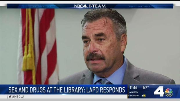 [LA] LAPD Patrols Public Libraries After NBC4 Investigation Finds Illegal Activity
