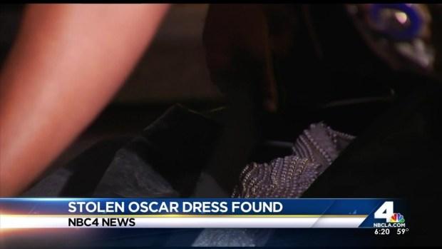 [LA] Stolen Oscar Dress Believed Found