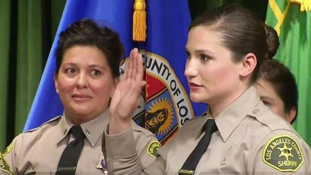 [LA] LASD Welcomes Twelfth Member of Velazquez Family