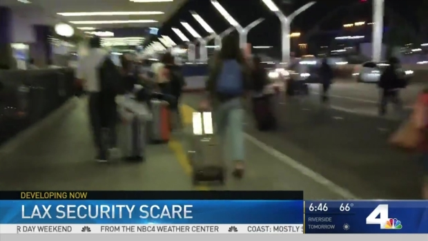[LA] False Report of Gunfire Led to LAX Evacuation