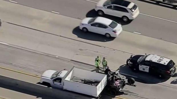 [LA] LA County Fire Worker Killed in Crash With Caltrans