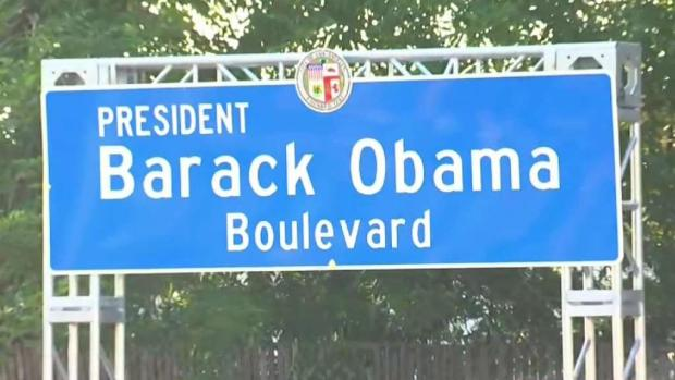 [LA] LA Names Stretch of Road 'Barack Obama Boulevard'
