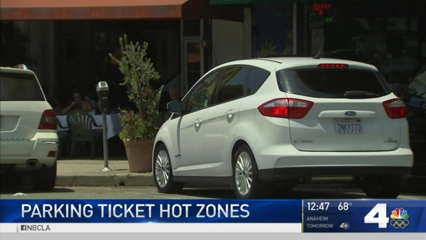 [LA] LA's Parking Ticket Hot Zones