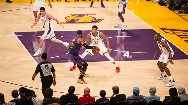 LeBron, Lakers Battle Bucks, Giannis and LeBron Take Center Stage