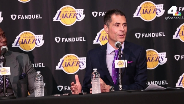 [LA] New Lakers GM Rob Pelinka Shares Bromance With Kobe Bryant