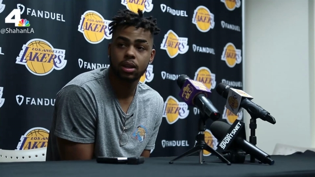[LA] D'Angelo Russell Full Exit Interview 2017
