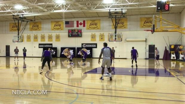 [LA] Luke's Lakers Practice Offense