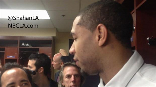 [LA] Xavier Henry Lakers Post-Game
