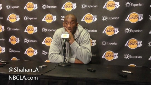 [LA] Kobe Bryant Post-Game Suns - Dec 10, 2013