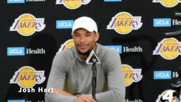 [LA] Lakers Players Talk About Anthony Davis Trade