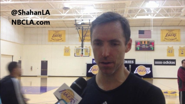 [LA] Steve Nash Talks Return