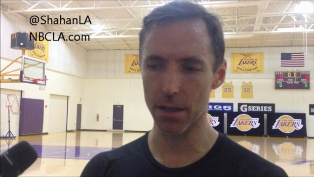 [LA] Steve Nash Talks Injury Rehab