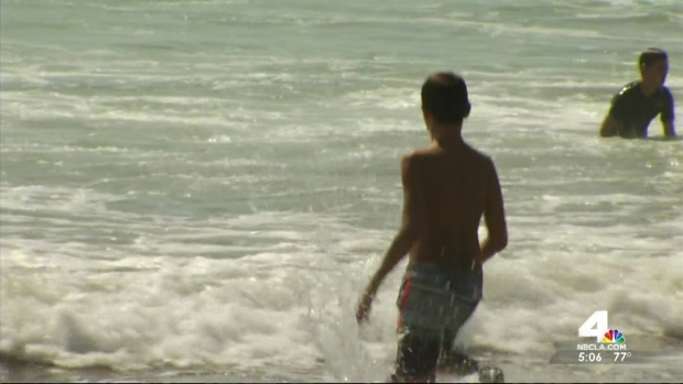 [LA] Lifeguards Gear Up For Busy Labor Day Weekend