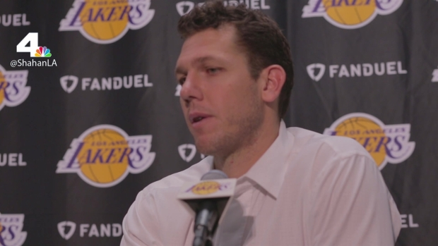[LA] Luke Walton Talks Larry Nance Jr.