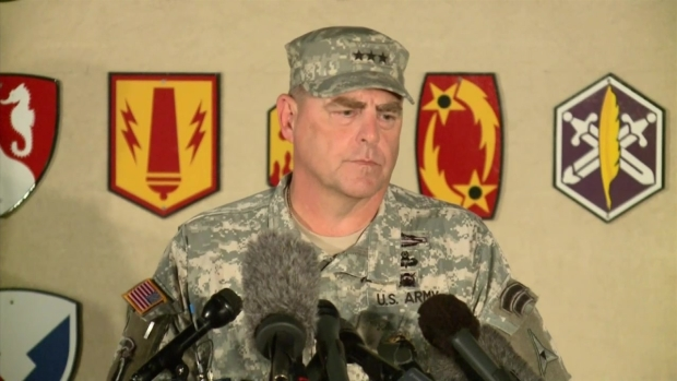 [DFW] Fort Hood's Lt. Gen. Mark Milley Press Conference