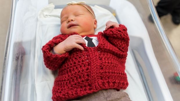 [NATL] Newborns Dress as Mr. Rogers for World Kindness Day