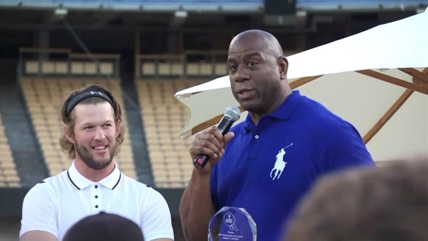 [LA] Magic Johnson Proclaims Dodgers Will Win The World Series