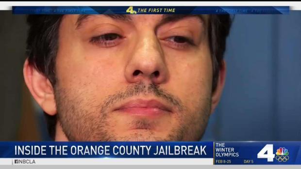[LA] Man Accused in Jailbreak Talks About Days on the Run