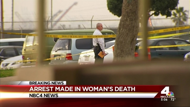 [LA] Man Accused in Slaying of Woman Found Dead in Apartment
