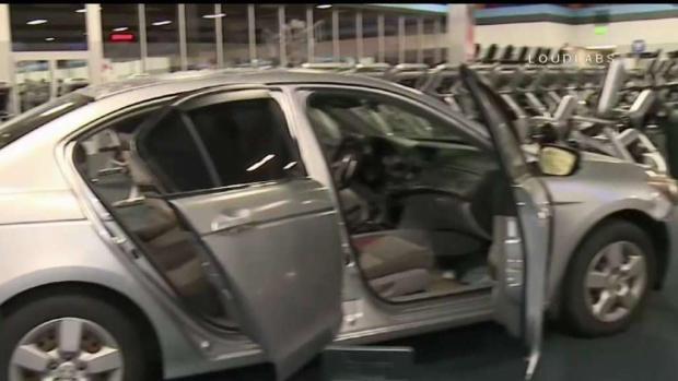 [LA STRINGER] Man Allegedly Crashes Stolen Car Into Gym After Membership Dispute