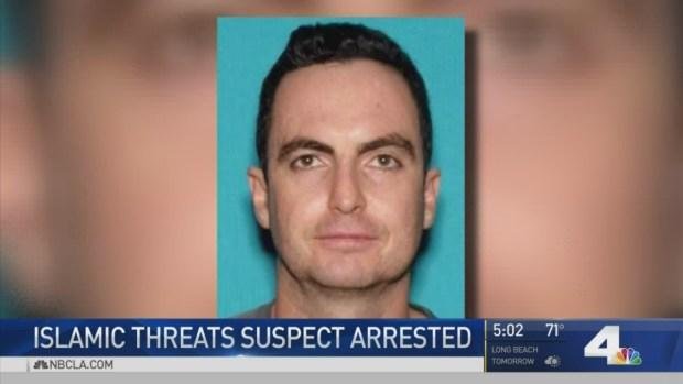 [LA] Man Arrested in Islamic Center Threats Case