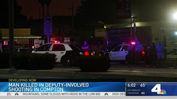 [LA] Man Killed in Deputy-Involved Shooting