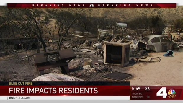 [LA] Many Fire Victims Return to Find Burned Homes