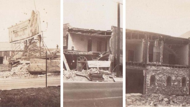 [la gallery] Images: Historic Photos Illustrate the Destruction Left Behind by the March 1933 Long Beach Earthquake