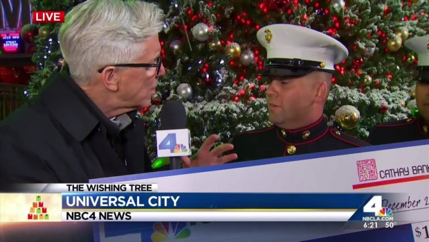 2015: Wishing Tree: Marines and Toys For Tots