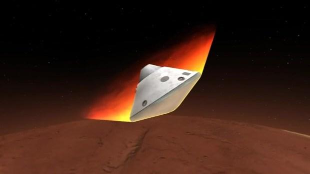 mars insight landing animation - photo #14