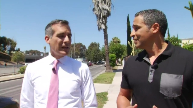 [LA] Mayor Says Watts Has Bright Future