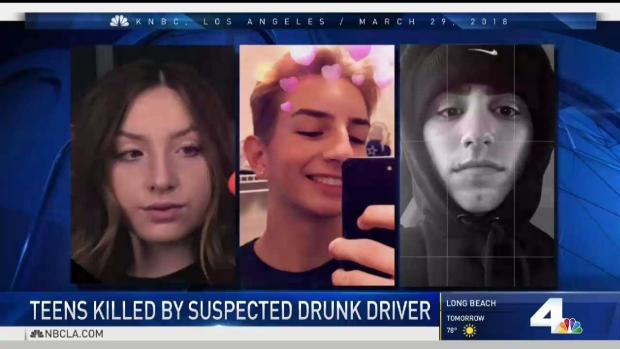 [LA] Memorial Grows for Teens Killed by Suspected DUI Driver