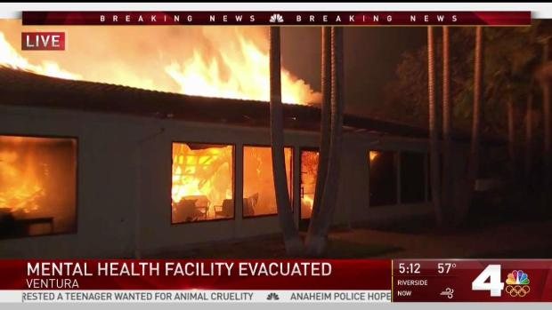 [LA] Mental Health Facility Burns Down in Thomas Fire